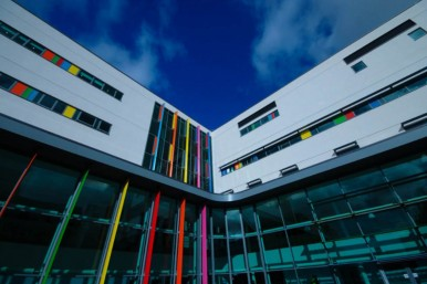 Cardiff Childrens Hospital - Non residential new build, highly commended 2015