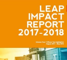 Front cover of AgilityEco LEAP Impact Report